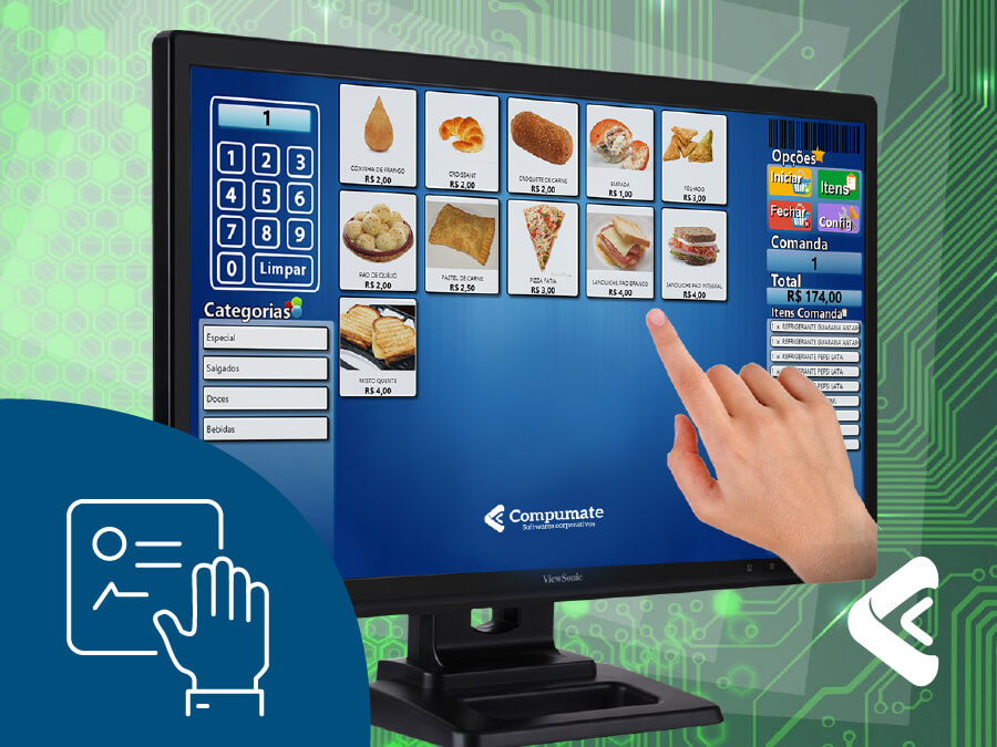 Compumate Softwares Corporativos - Touch Terminal